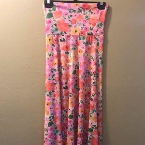 NWOT LuLaRoe Maxi Skirt Madison XXS